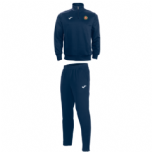 Ballynahinch Olympic FC Training Tracksuit (Tight Fit Bottoms) Navy ADULTS 2019